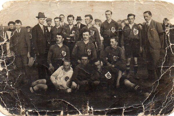 Z histórie haličského futbalu.