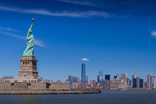 Socha slobody je najznámejší symbol Ameriky.
