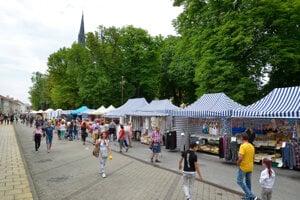 Ponuka predajcov i bohatý program láka na Spišské trhy každoročne takmer 100 000 návštevníkov.