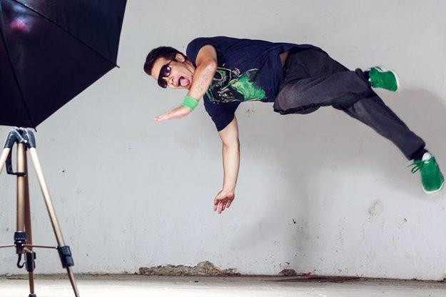 Matej sa pred účinkovaním v klipe musel učiť nový tanečný štýl.