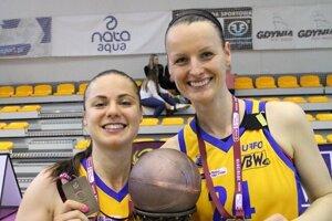 Anna Jurčenková (vpravo) si v Gdyni zahrala spolu s Barborou Bálintovou.