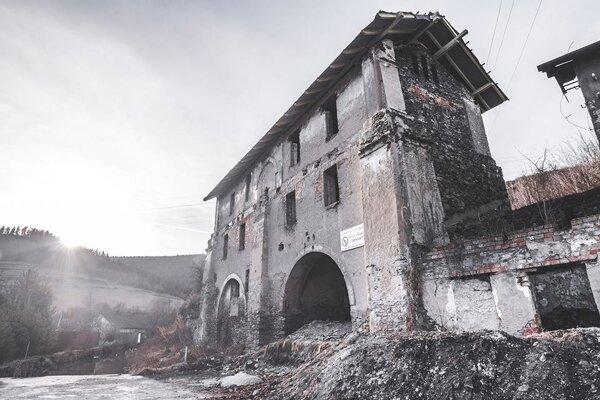 Železiareň v Krompachoch, časť Stará Maša.