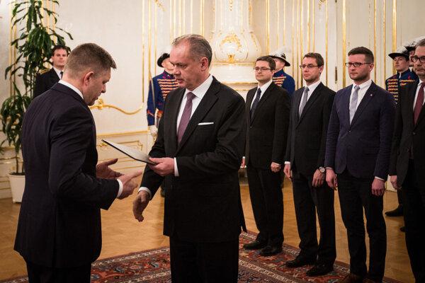 Prezident Kiska vymenoval staronového premiéra.