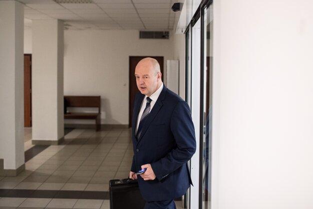 Pavol Rusko v pondelok na súde.