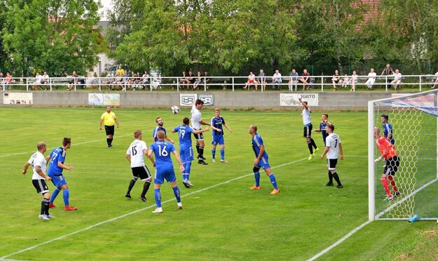 Slovnaft Cup: Mokrý Háj - Boleráz