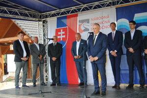 Hovorí generálny riaditeľ Váhostavu Marián Moravčík.
