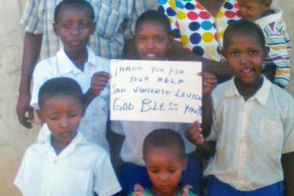 Školákom z Levíc poslali takéto poďakovanie.