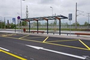 Takto vyzerá nový terminál.
