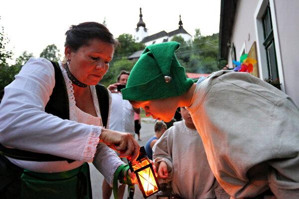 Jedným z lákadiel víkendu bude aj tekvicová zábava a pochod so svetlami - faklcúg na Španej Doline
