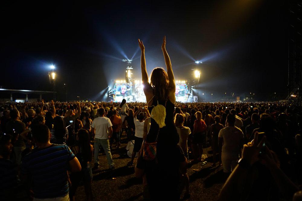 Kubánci pri rock-rollovej hudbe tancovali.