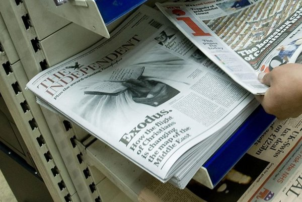 Vo februári sa predalo len 54-tisíc výtlačkov Independentu, zatiaľ čo jeho online vydanie denne navštívilo 2,9 milióna užívateľov.