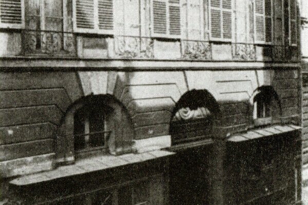 Sídlo Československej národnej rady vParíži na Rue de Bonaparte