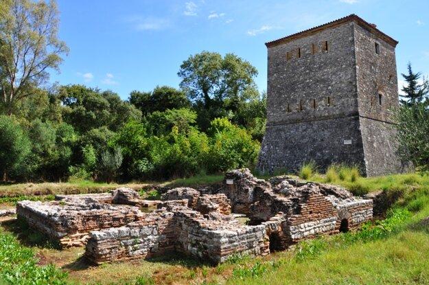 Butrint a Benátska veža
