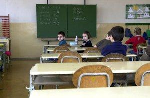 V niektorých triedach je z roka na rok menej žiakov.