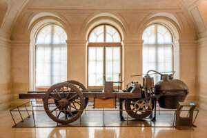 Cugnotov Fardier a vapeur, prvé samohybné vozidlo na svete