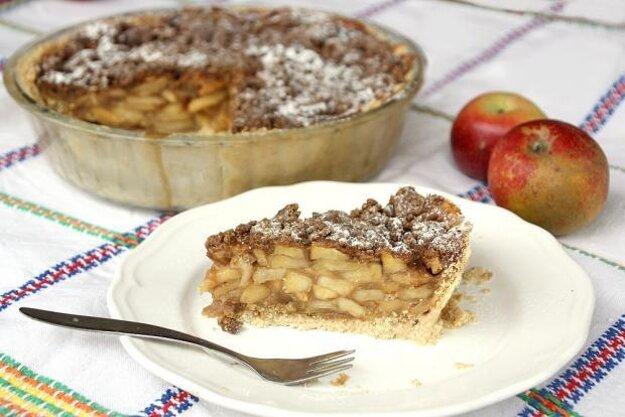 Holandský jablkový koláč