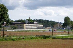 Väznica Hall v Södertälje pri Štokholme.