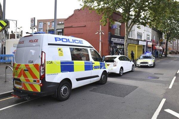 Štvrť Leyton v Londýne, kde doško k útoku mačetou na policajta.