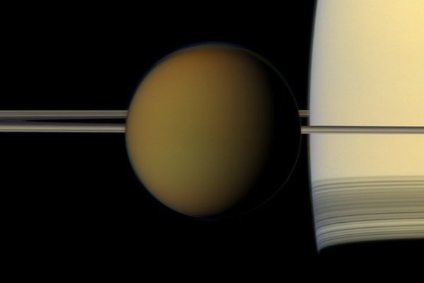 Saturnov mesiac Titan.