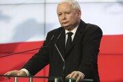 Líder poľskej vládnucej strany Právo a spravodlivosť Jaroslaw Kaczyński.