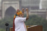 Indický premiér Nárendra Módí.