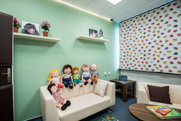 Detská výsluchová miestnosť