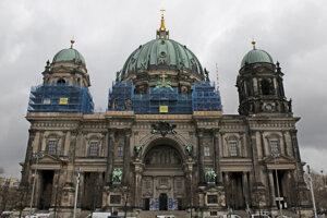 Katedrála v Berlíne, kde chlapčenský zbor vystupuje.