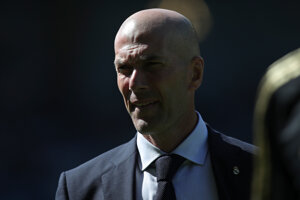 Zidenine Zidane, tréner Realu.
