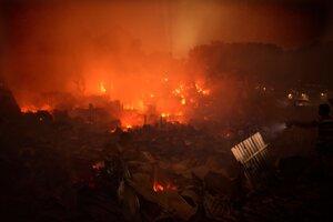V bangladéšskej Dháke zhorel slum.