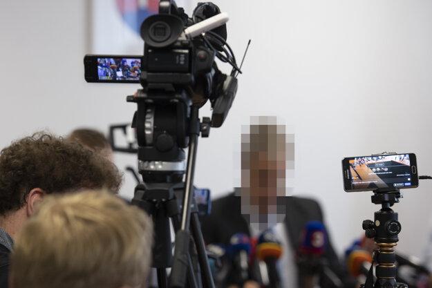 Tlačová konferencia Úradu špeciálnej prokuratúry v Pezinku k vyšetrovaniu vraždy novinára Jána Kuciaka a jeho snúbenice Martiny Kušnírovej na Špecializovanom trestnom súde.