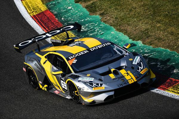 Lamborghini so Sládečkovcami môžete vidieť v akcii už tento víkend v Orechovej Potôni.