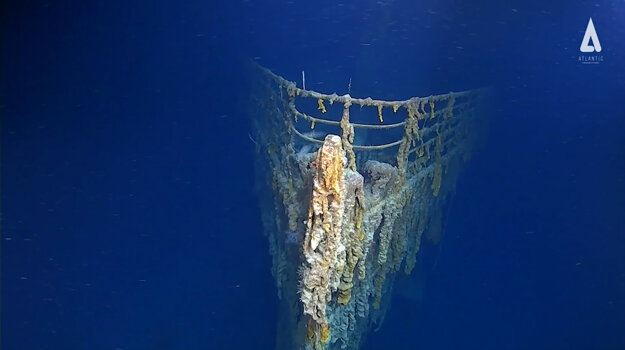 Titanic sa potopil v roku 1912. Zomrelo vtedy viac ako 1 500 pasažierov a členov posádky slávnej lode.