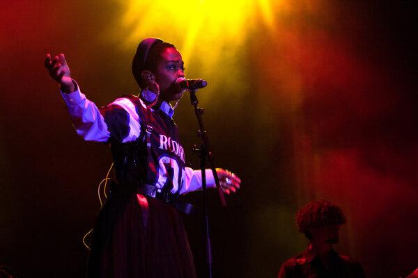 Lauryn Hill bola hlavnou hviezdou festivalu Uprising.
