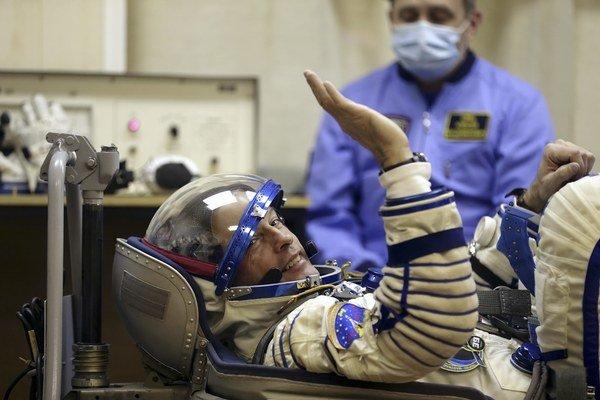 Naposledy letel s Rusmi na ISS astronaut Steve Swanson.