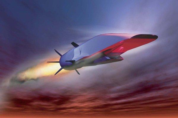 Americká X-51A.