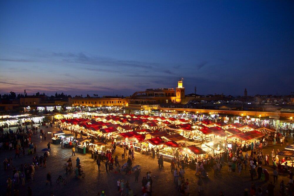 Marakéš, Maroko.