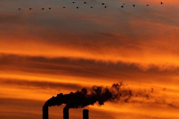 CO2 je v atmosfére rekordne veľa.