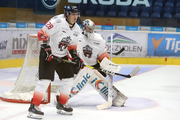 Hokejisti HC 05 iClinic Banská Bystrica - ilustračná fotografia.