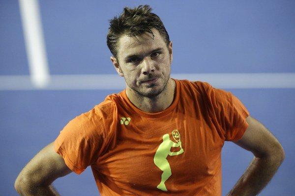 Švajčiarsky tenista Stan Wawrinka.