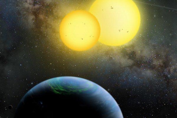 Kepler pozoroval rôzne exoplanéty.