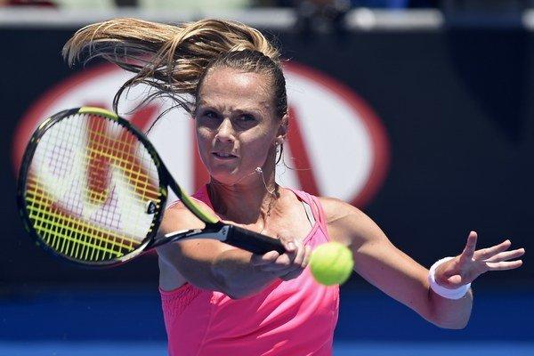 Pre bolesti nohy Magdaléna Rybáriková nedohrala zápas druhého kola na Australian Open.