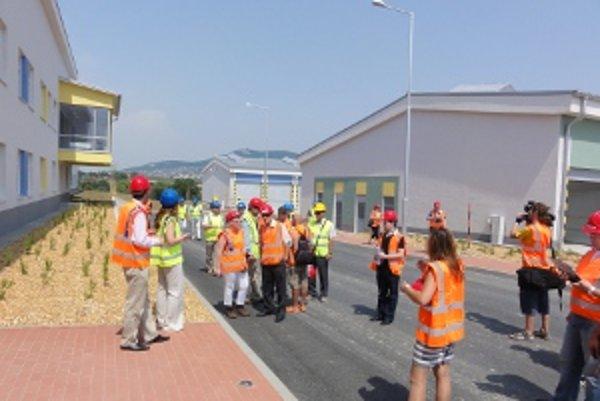 Stredisko správy a údržby vybudovali v Selenci.