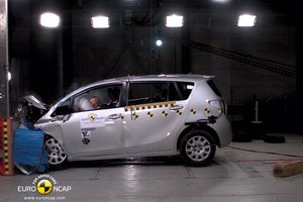 Kompaktný van dosiahol vyrovnané výsledky vo všetkých oblastiach bezpečnosti. Najviac prekvapila vysoká úroveň ochrany chodcov.