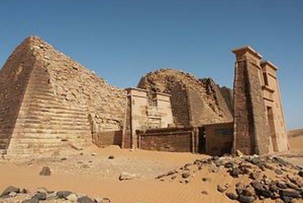 Pyramídy v Meroe.