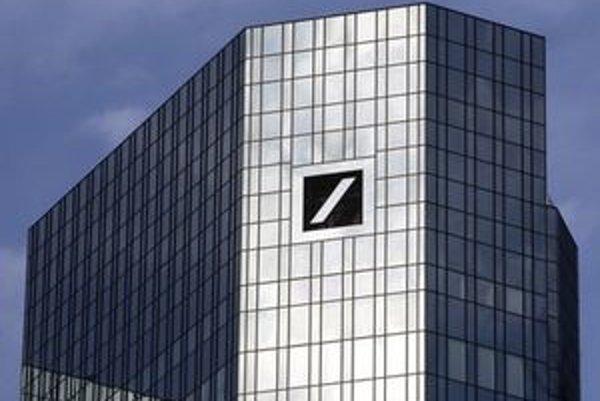 Sídlo Deutsche bank vo Frankurte.