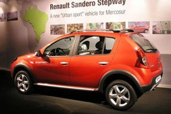Dacia expanduje na všetkých trhoch a rozširuje výrobu. Popri nových motorizáciách a úžitkových verziách je najnovším prírastkom Sandero Stepway.