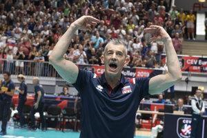 Tréner Marco Fenoglio.