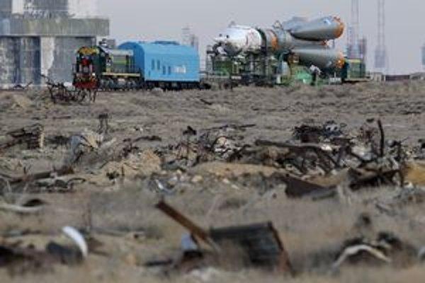 Bajkonur v Kazachstane.