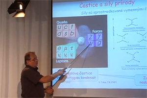 Časticový fyzik Stanislav Tokár vysvetľuje, z čoho je poskladaný svet.