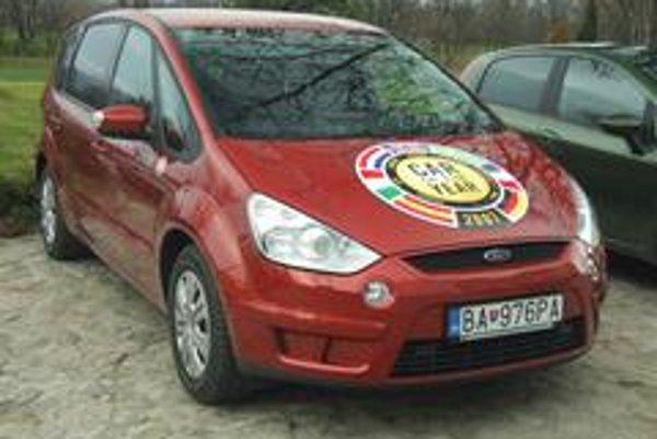 Titul Auto roka 2007 na Slovensku získal Ford S-Max so 60 bodmi